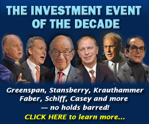 The Investment Event of the Decade
